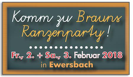 Brauns Ranzenparty 2018