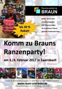 Brauns Ranzenparty 2017